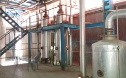 used engine oil refining plant service